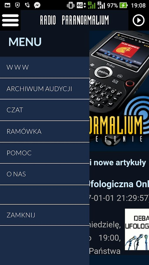 Radio Paranormalium Lite- screenshot