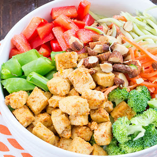 Orange Tofu Buddah Bowl