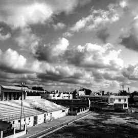 Iphone Shot by Shahzar Khan - Black & White Landscapes