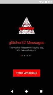 glitcher32 Messenger - náhled