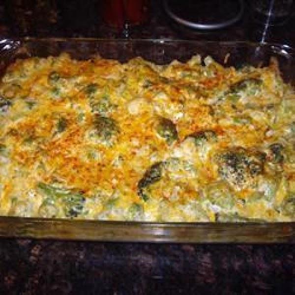 Easy Broccoli And Cheese Casserole Recipe