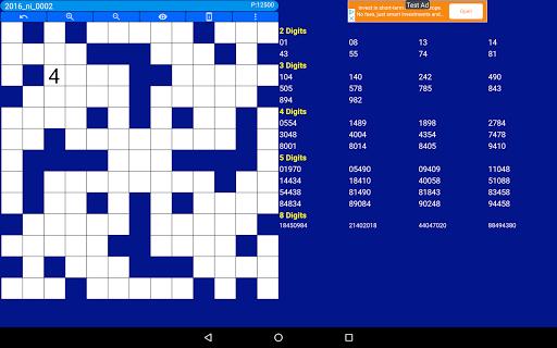 Number Fill in puzzles - Numerix, numeric puzzles 6.6 Screenshots 17
