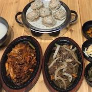 Jin Special Set A (Dumpling+Jaeyuk pork+Beef Bulgogi)