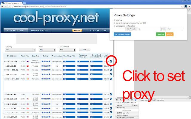cool-proxy.net proxy switcher