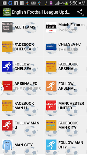 EPL Fixtures and Updates