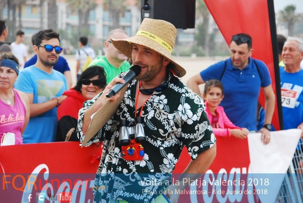 Joxe Speaker  Volta a la Platja de València 2018