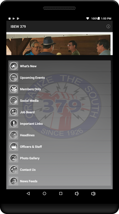 IBEW 379- screenshot