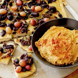 Roasted Pumpkin Seed Hummus.