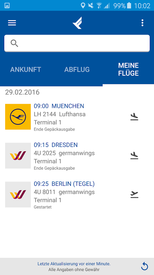 Stuttgart Airport- screenshot