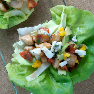 Cobb Lettuce Wraps.