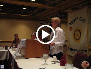 Video: Ruth talking about the District Foundation Seminar in July 2008 - Video - August 5, 2008