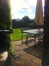 Photo: cast aluminium garden furniture