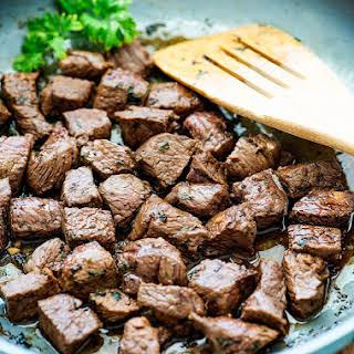 Steak Bites.