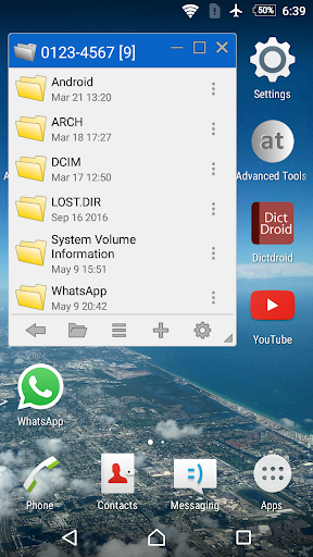 Floating File Manager v1.0 (Paid)