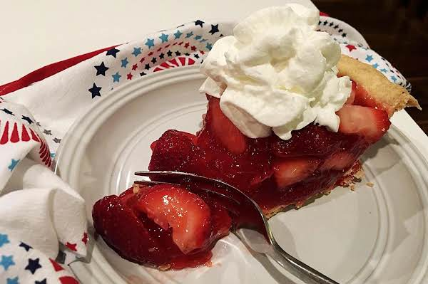 ~ Strawberry Pie ~ Deep Dish Recipe