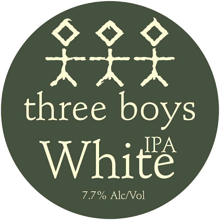 Logo of Three Boys White IPA