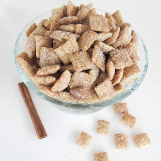 Cinnamon Sugar Chex Mix.