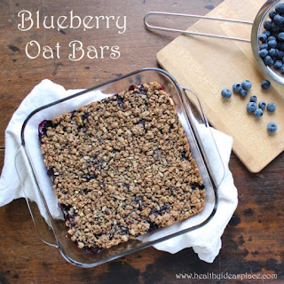 Blueberry Oat Bars.