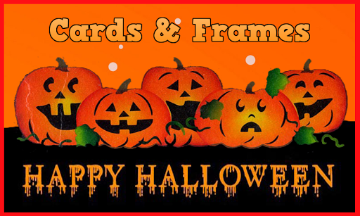 Happy Halloween: Cards Frame