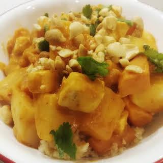 Vegetarian African Maafe (Groundnut Stew).