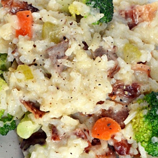 Steak & Bacon Risotto Recipe