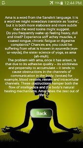 Check your Toxicity (Ayurveda) screenshot 1