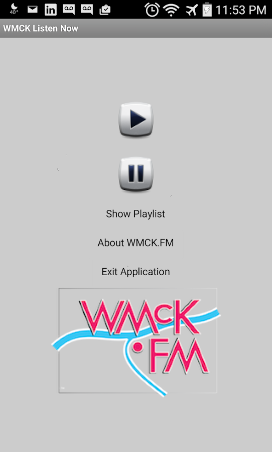 WMCK.FM- screenshot