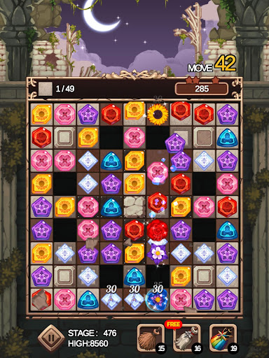 Witch's Garden: puzzle - screenshot