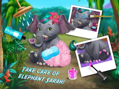 Jungle Animal Hair Salon- screenshot thumbnail