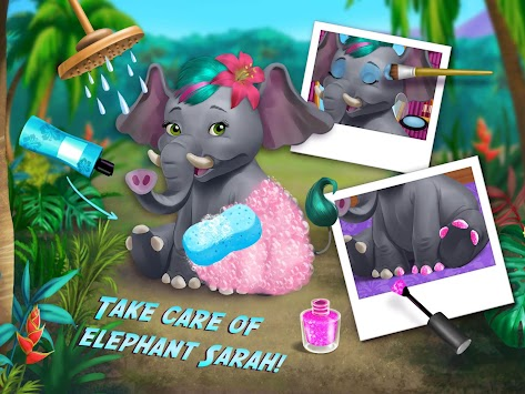 Jungle Animal Hair Salon APK screenshot thumbnail 10