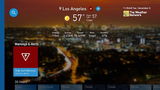 The Weather Network TV App screenshot 6