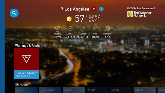 The Weather Network TV App- screenshot thumbnail