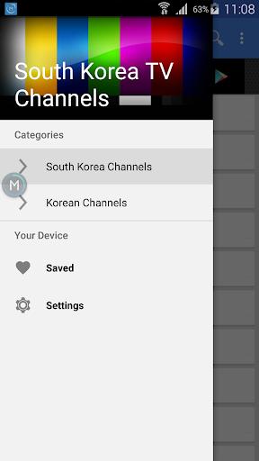 South Korea TV Channels