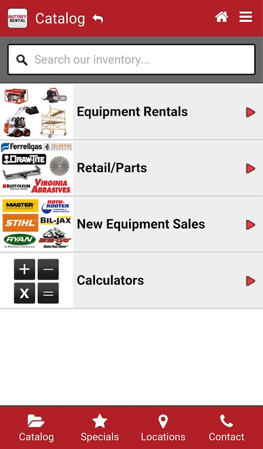 Buttrey Rental- screenshot