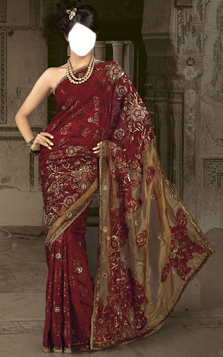 Saree Fashion Photo Studio