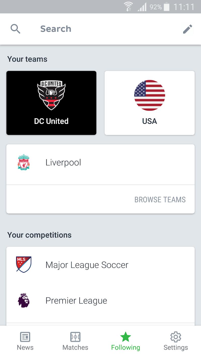 Onefootball - Soccer Scores Screenshot 4
