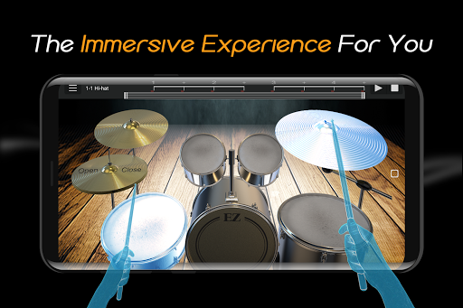 Easy Real Drums-Real Rock and jazz Drum music game  screenshots 3