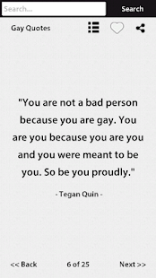 Gay Quotes- screenshot thumbnail