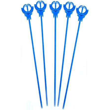 Ballongpinnar 10-pack - blå