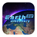 3D Earth discovery theme Icon