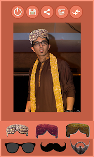 Traditional Sindhi Topi Photo Editor Make Me Saen - náhled