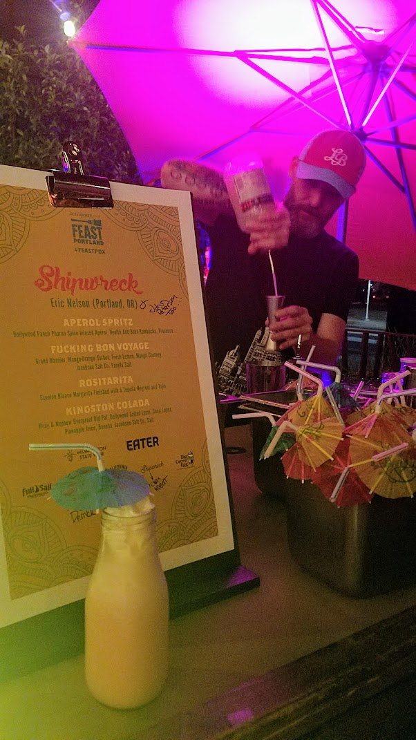 Dear Salty, Stay Sweet after party of Feast Portland 2017 showcasing Washington wines with Eater at Bollywood Theater