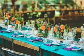 Photo: Colourful Mexican themed wedding