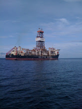 Photo: The mighty Saipem 10k - she's big from a distance