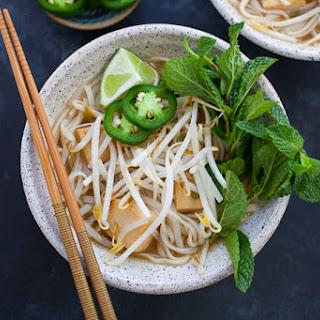 Instant Pot Vegetarian Pho (Vietnamese Noodle Soup) Recipe