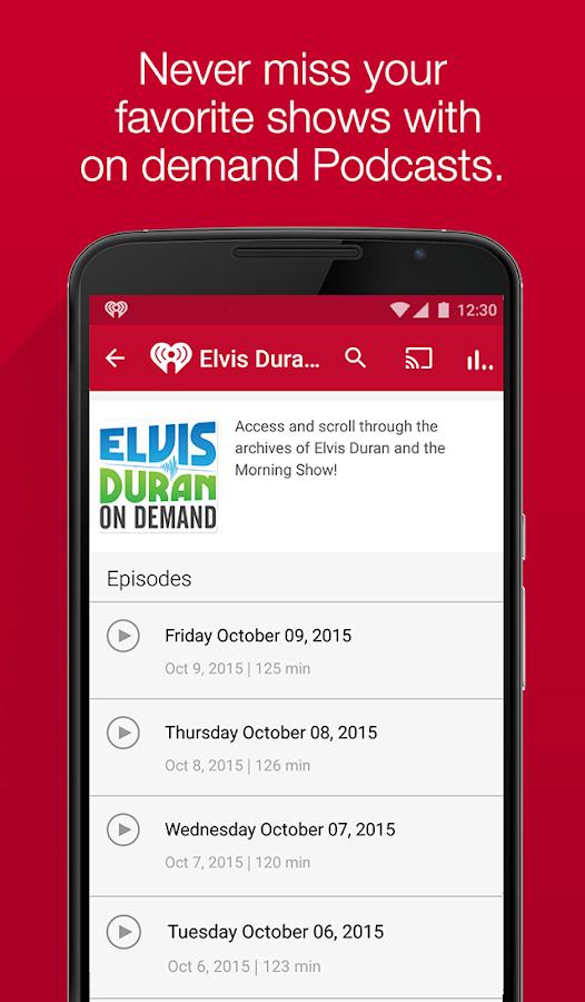 iHeartRadio - Radio & Music- screenshot
