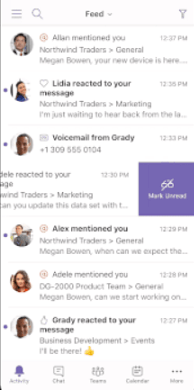 Use the mobile app to improve the Microsoft Teams end user experience