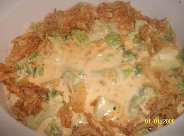 Company Broccoli Three-cheese Bake