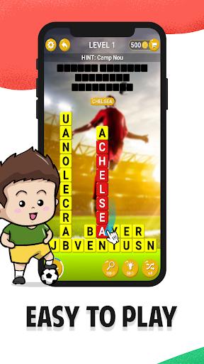 Football Team Names - Guess Soccer Logos Quiz android2mod screenshots 1