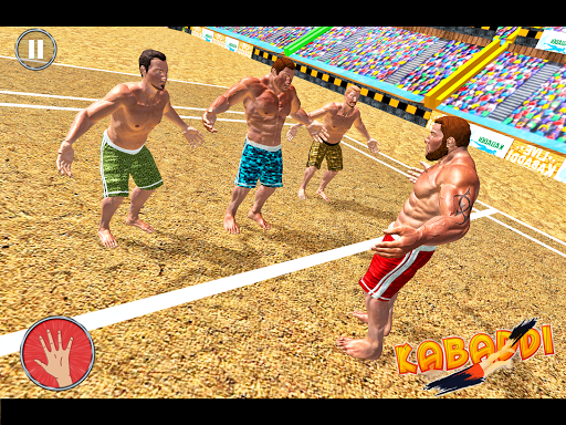 Kabaddi Wrestling Game - Pro Knockout Fighting  screenshots 1